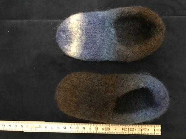 Filzschuh 16cm Grösse 23