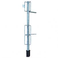 Ständer aus Stahlrohr feuerverzinkt mit 3 und 8 Haltern