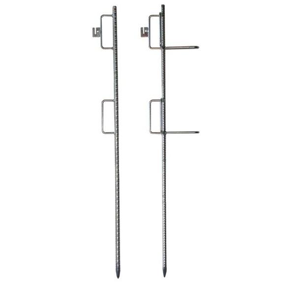 Lattenhalter aus Betonstahl verzinkt mit 2 Bügeln (Bügel 55 x 160 mm)
